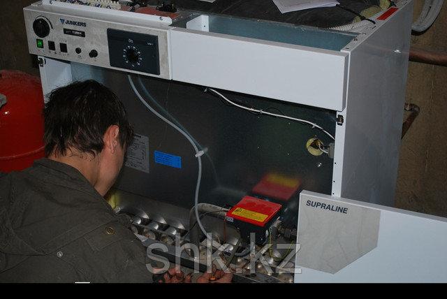 Ремонт газовых котлов и систем отопления в Алматы и Алматинской области