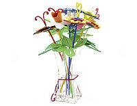 Букет цветов (пакет 9 цв.)