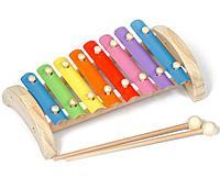Ксилофон 8 тонов (металлический)