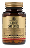 Цинк, 50 мг, Солгар, 100 таблеток.