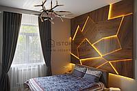 Стеновая панель в спальню