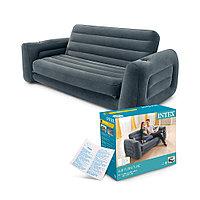 Надувной диван-трансформер INTEX с насосом в подарок