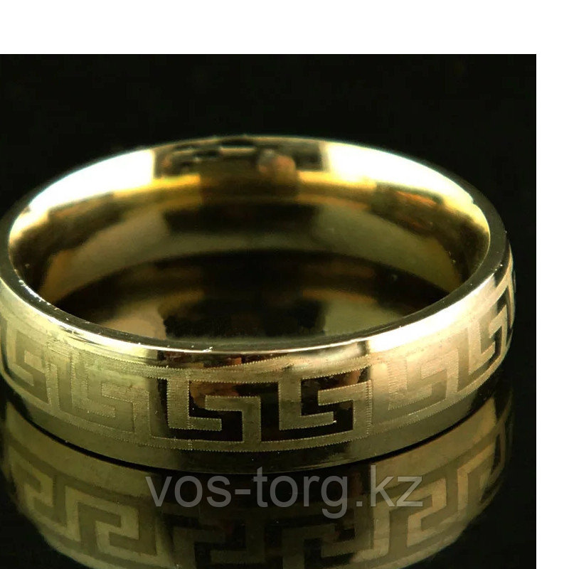 """Кольцо обручальное """"Wedding ring"""" позолота - фото 2"""