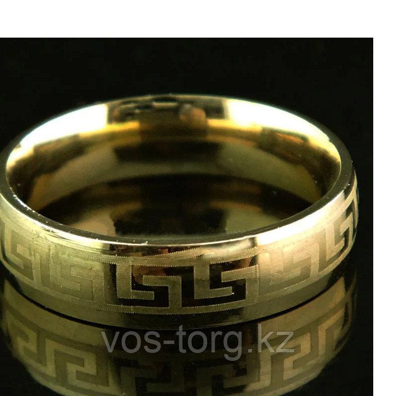 """Кольцо обручальное """"Wedding ring"""" позолота - фото 1"""