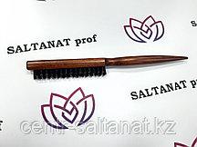 Щетка для начеса волос деревянная