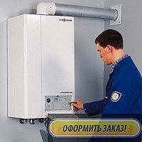 Ремонт и обслуживание, чистка теплообменника газового котла Midea в Каскелене