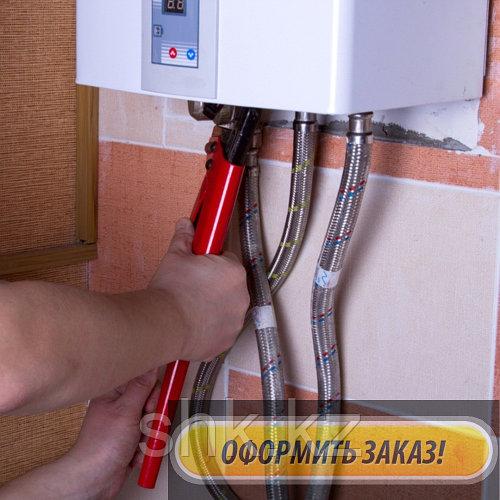 Ремонт и обслуживание, чистка теплообменника газового котла Cronos в Талгаре (Алматинской области)