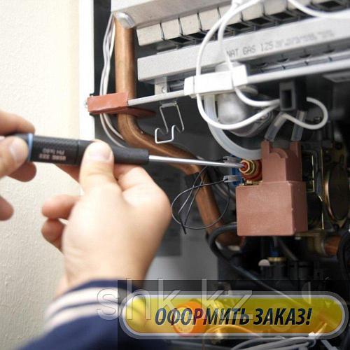Ремонт и обслуживание, чистка теплообменника газового котла FAF в Талгаре (Алматинской области)