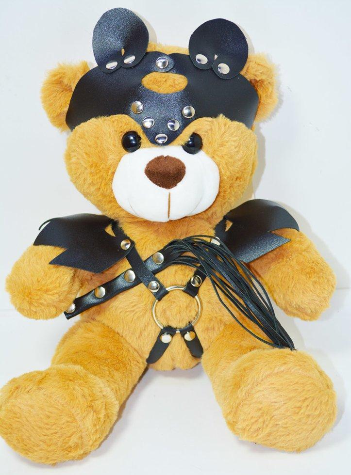 Фетиш медведь с плеткой (игрушка)