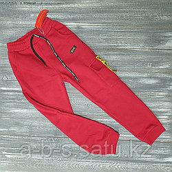 Трико красные с желтой вставкой off white