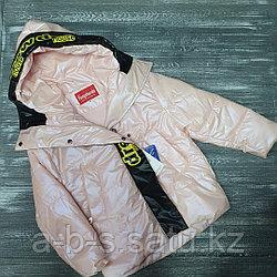 Куртка для девочек  (oversize, весна)