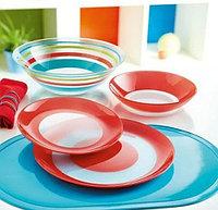 Столовый сервиз Luminarc Simply Colors Red 19 предметов на 6 персон