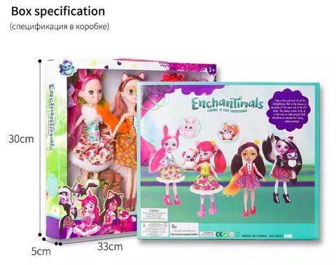 Набор кукол Enchantimals (Три подруги) - фото 3