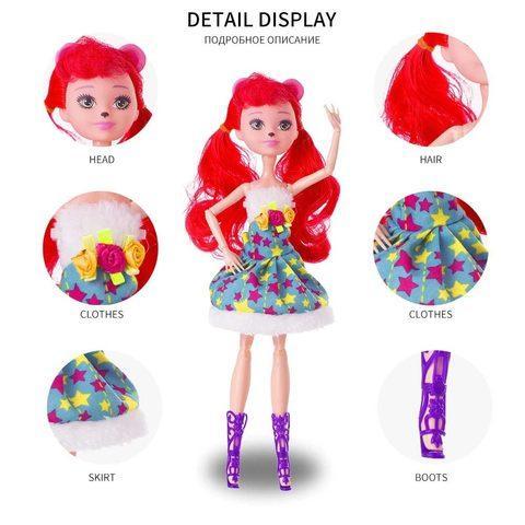 Набор кукол Enchantimals (Три подруги) - фото 4