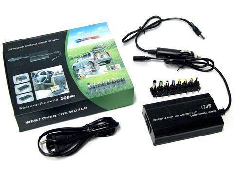 Блок питания для ноутбука универсальный 12В/220В MRM-POWER с портом USB (120Вт), фото 2