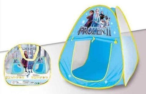 Палатка детская для игр «Веселый домик» в сумке (Холодное сердце)
