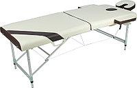 Стол массажный складной Med-Mos JFAL01A 2-х секционный с РУ
