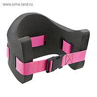 Пояс для плавания Aquabelt, размер S, до 75 кг, M0820 02 4 01W, серый/розовый