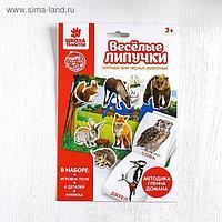Игра на липучках «Изучаем мир лесных животных», методика Домана