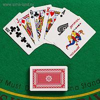 Карты игральные бумажные Boval 177, 55 шт, 8.5х6х1.8 см, 280гр/см
