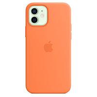 Apple iPhone 12 mini Silicone Case with MagSafe - Kumquat аксессуары для смартфона (MHKN3ZM/A)