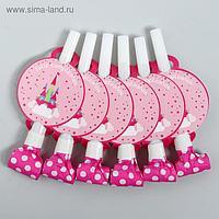 Карнавальный язычок «Воздушный замок», набор 6 шт.