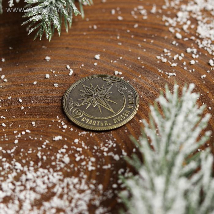 Рождественская монета-талисман «Ангел» - фото 4