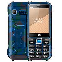 BQ 2824 Tank T Camouflage Blue смартфон (BQ 2824 Tank T Blue)