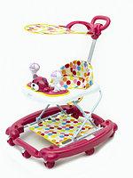 Детские ходунки Tomix First Step розовый