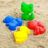 Набор для игры в песке 56, цвета МИКС