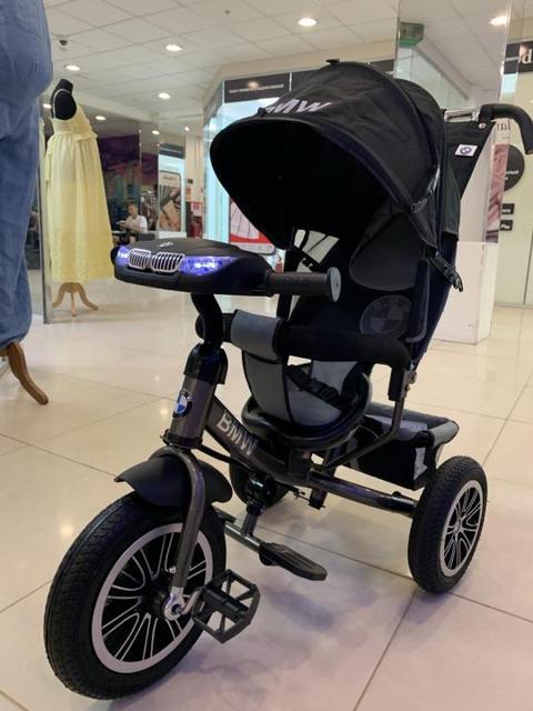 Детский трехколесный велосипед BMW