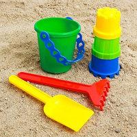 Набор для игры в песке 6, цвета МИКС
