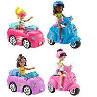 Игрушка Barbie В движении ТС и кукла в асс.