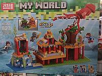"""Конструктор Decool Майнкрафт (аналог Lego) """"Подводный мир 2в1"""", 432 детали"""