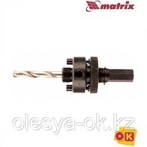 Хвостовик шестигранный для коронок Bimetal от 32 мм Matrix, фото 2