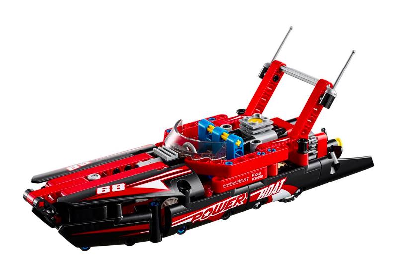 Конструктор Lari 11296 Моторная лодка - фото 3