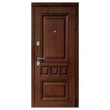 Входная металлическая дверь АураТерморазрыв орех