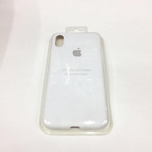 Оригинальный силиконовый чехол для iPhone X