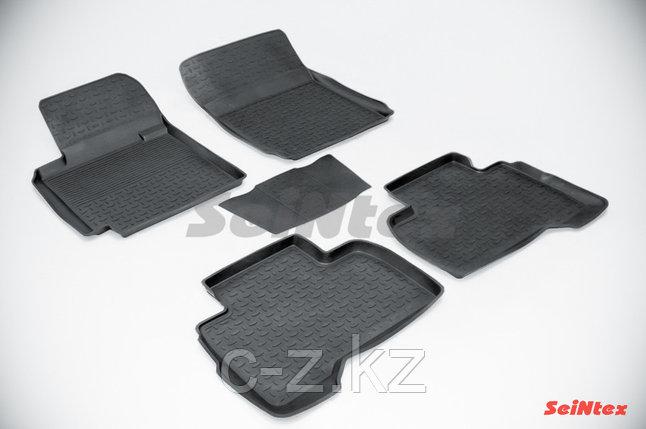 Резиновые коврики с высоким бортом для Suzuki Grand Vitara III 5-dr 2005-н.в., фото 2