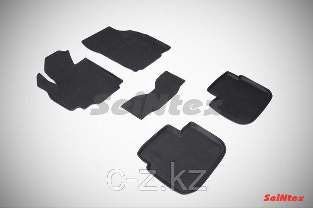 Резиновые коврики с высоким бортом для Suzuki SX4 I 2006-2013, фото 2