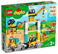 LEGO: Башенный кран на стройке DUPLO 10933