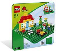 LEGO: Большая строительная пластина зеленая DUPLO 2304
