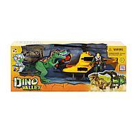 Игровой набор Chap Mei Охотник на динозавра (20 см) на вертолете (22 см)