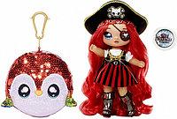 NA! Na! Na! Surprise - мягкие куклы с животным-помпоном-сумочкой Кукла Пират Pirate Becky Buckaneer от MGA
