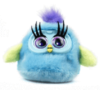 Интерактивная игрушка Fluffy Birds птичка Ruby
