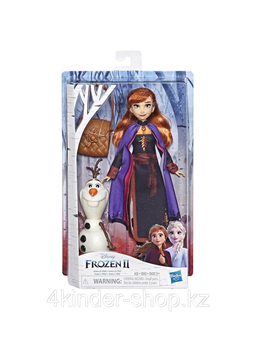 Кукла Анна с аксессуарами ХОЛОДНОЕ СЕРДЦЕ 2 Hasbro Disney Princess - фото 2