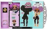 Кукла ЛОЛ Сюрприз леди диджей L.O.L. Surprise! O.M.G. 24K D.J.