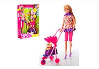 Кукла DEFA LUCY 8205 с коляской и собачкой (в ассортименте)