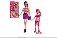 Кукла Defa Lucy с дочкой на роликах