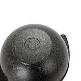 Казан для плова 3,5л со стеклянной крышкой, АП линия «Granit Ultra» (Original), фото 3